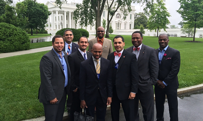 Nolan Cabrera and Group at the White House
